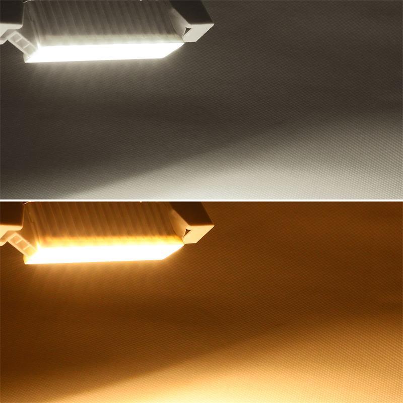 LED light bulb R7s | 78/118mm | warm /pure white | 6W/230V