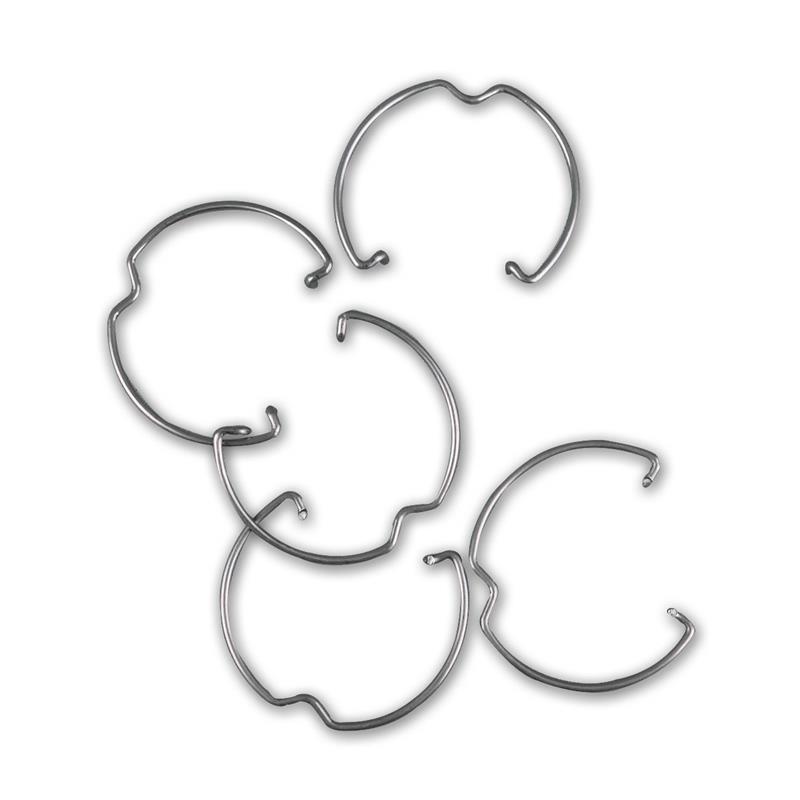 retaining clip rings for MR11, set of 5