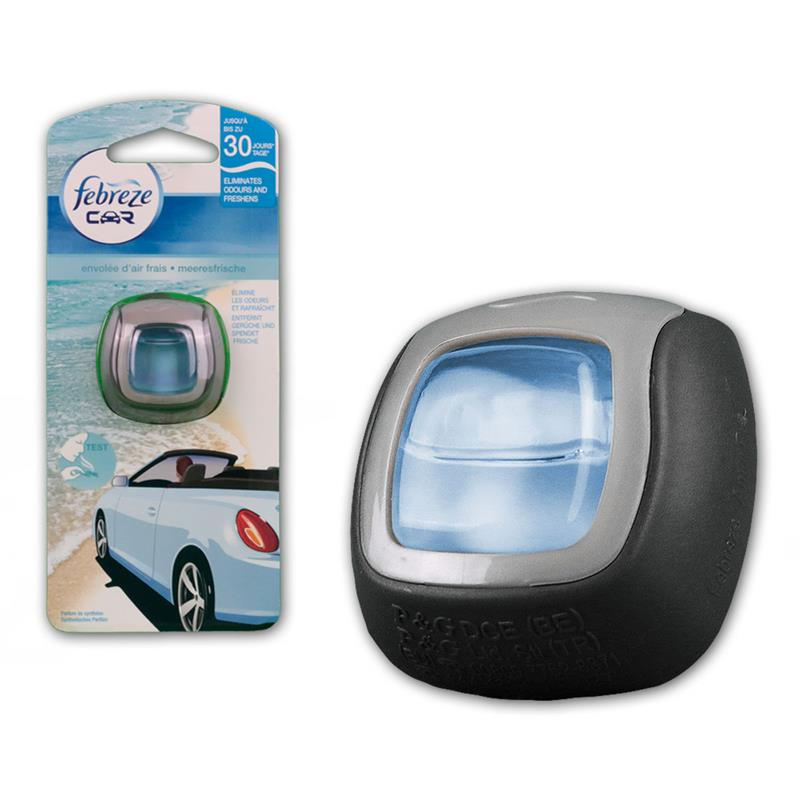 febreze car meeresfrische 2ml lufterfrischer auto. Black Bedroom Furniture Sets. Home Design Ideas