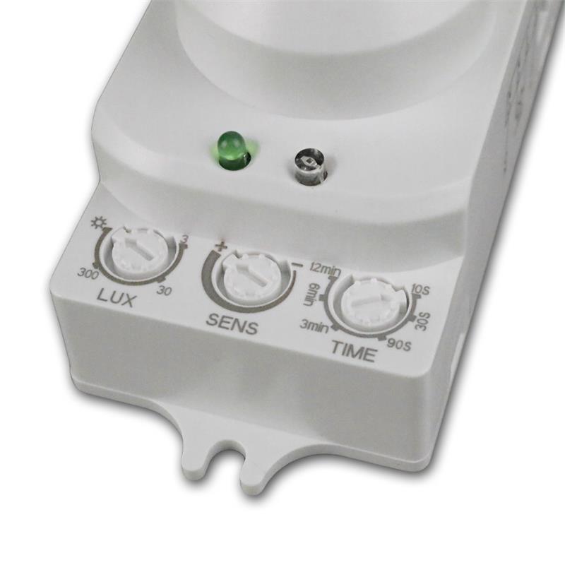 "Mikrowellen Bewegungsmelder ""LX-701C"" 230V/1200W"