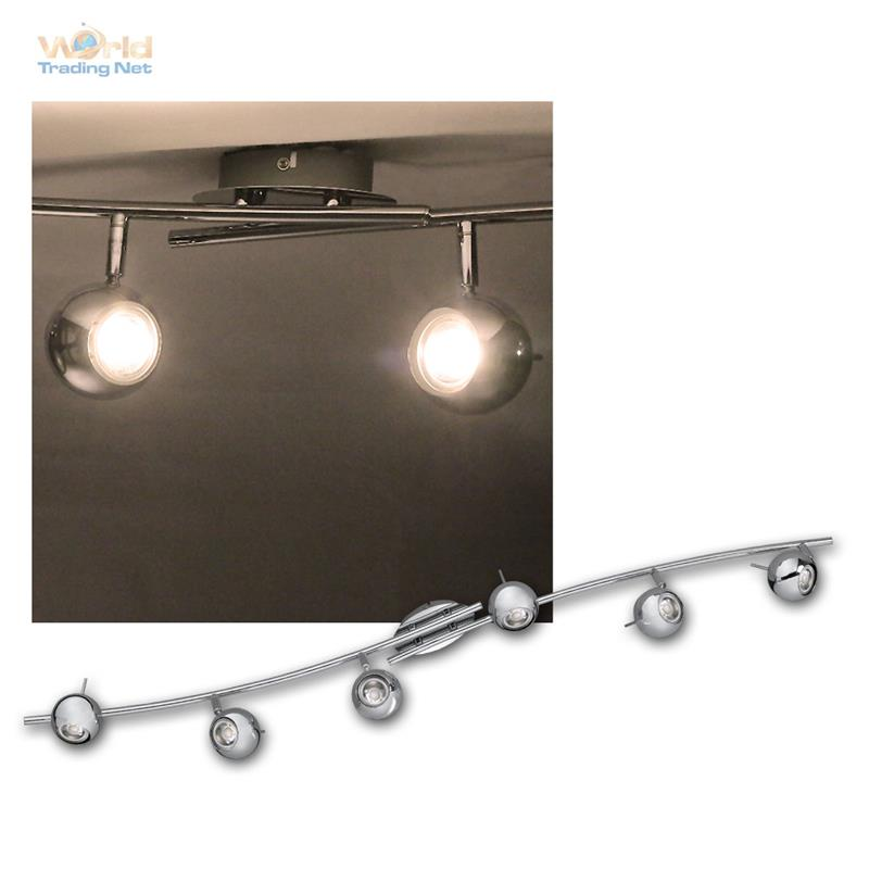 Luces-de-techo-cromo-3-5w-calido-Daylight-cob-LED-spot-lampara-lampara-de-techo-emisor
