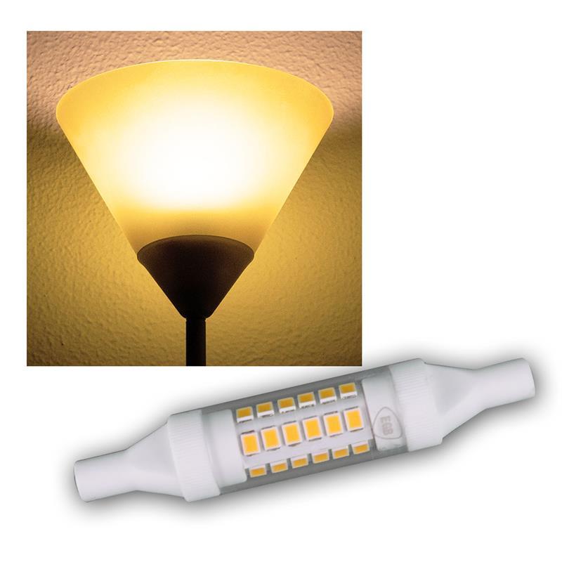 r7s led slim leuchtstab 78mm warmwei 490lm 5w. Black Bedroom Furniture Sets. Home Design Ideas