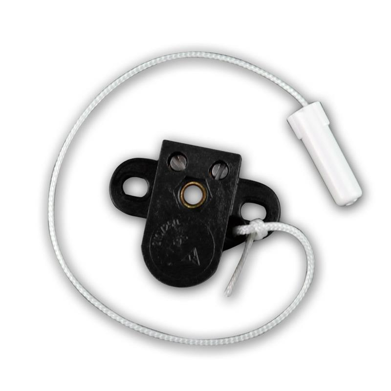 Pull cord switch, on/off, with 2 hole tab