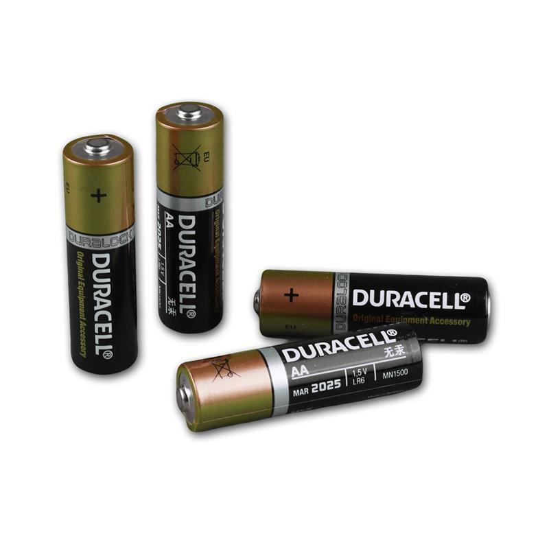 duracell oem aa alkaline batterie 4er pack lr06. Black Bedroom Furniture Sets. Home Design Ideas