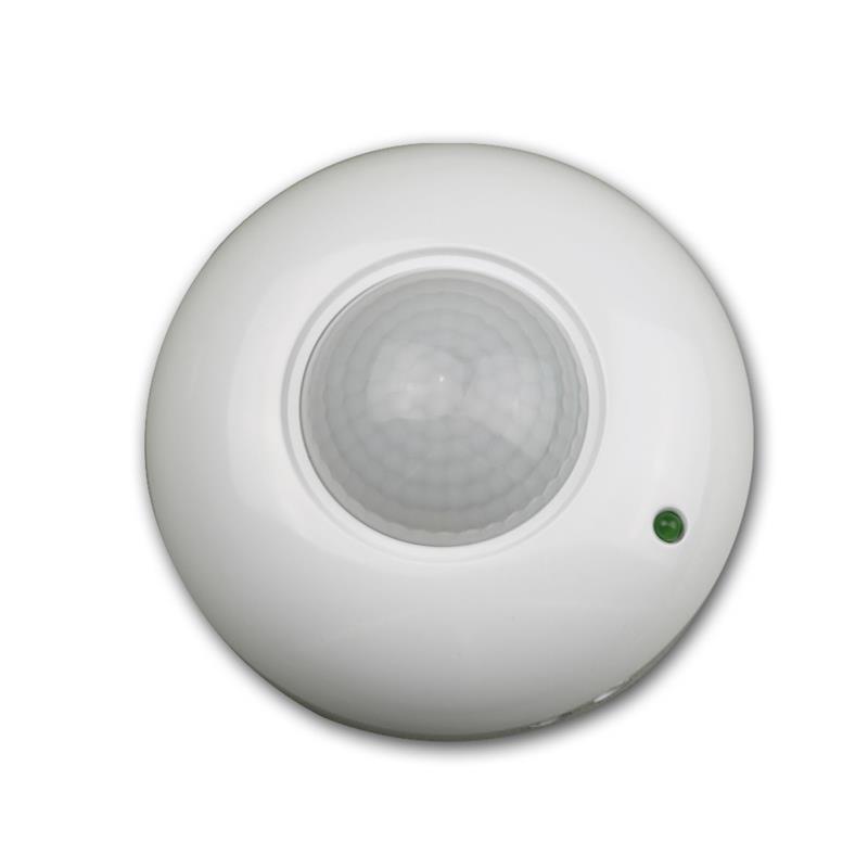 Decken-Einbau-Bewegungsmelder 360° 6m Detektion LED geeignet