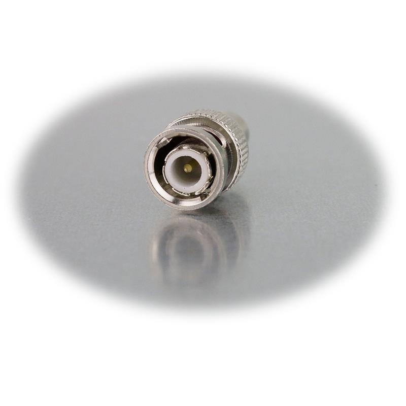 BNC adapter, BNC plug to RCA connector
