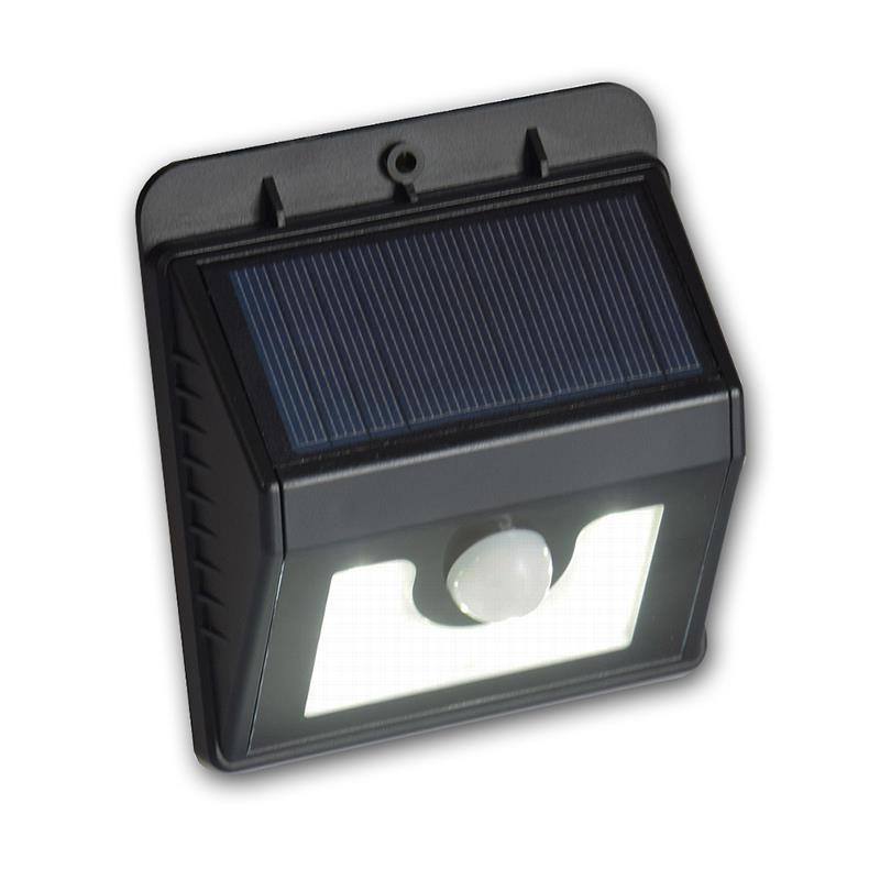 solar wandleuchte mit bewegungsmelder swl 08 150lm. Black Bedroom Furniture Sets. Home Design Ideas