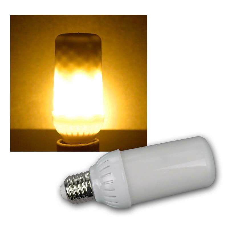 led flamme leuchtmittel e27 4w 230v 465lm opal. Black Bedroom Furniture Sets. Home Design Ideas