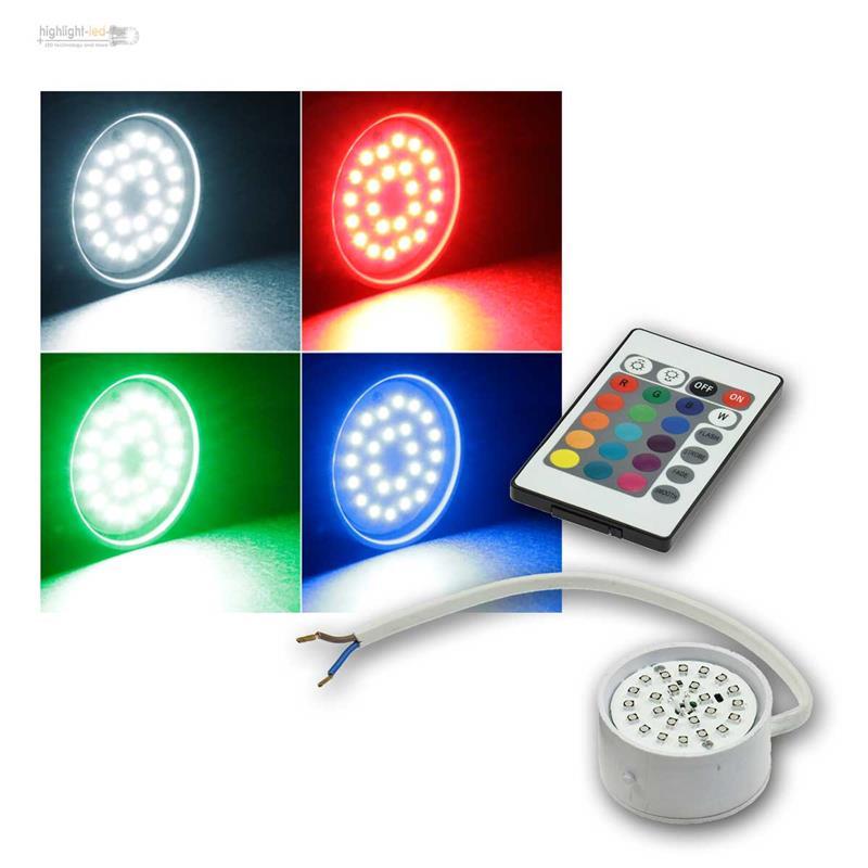 Soluzione-sostitutiva-di-gu10-LAMPADINA-3-5w-Caldo-neutrale-RGB-inserto-Luci-Lampada-230v