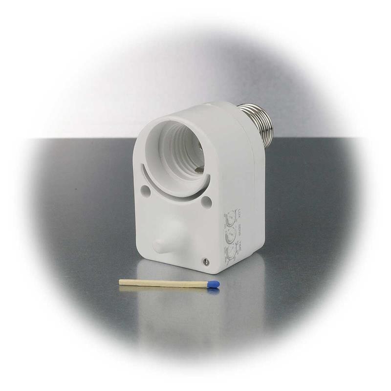Bekannt Mikrowellen Bewegungsmelder   E27 Fassung   360° NH65