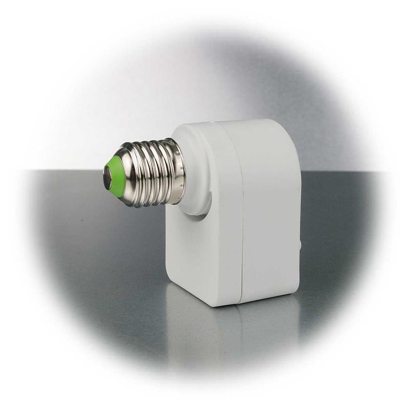 Mikrowellen Bewegungsmelder | E27 Fassung | 360°