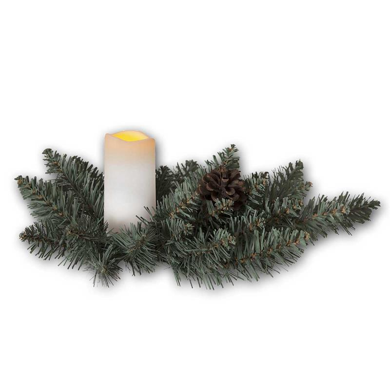 Christmas candle with LED candle | Timer | IP44