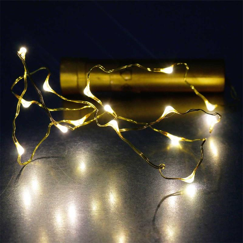 100 LED-Lichterkette,Micro Drahtlichterkette Lichter Draht Neu mehrfarbig