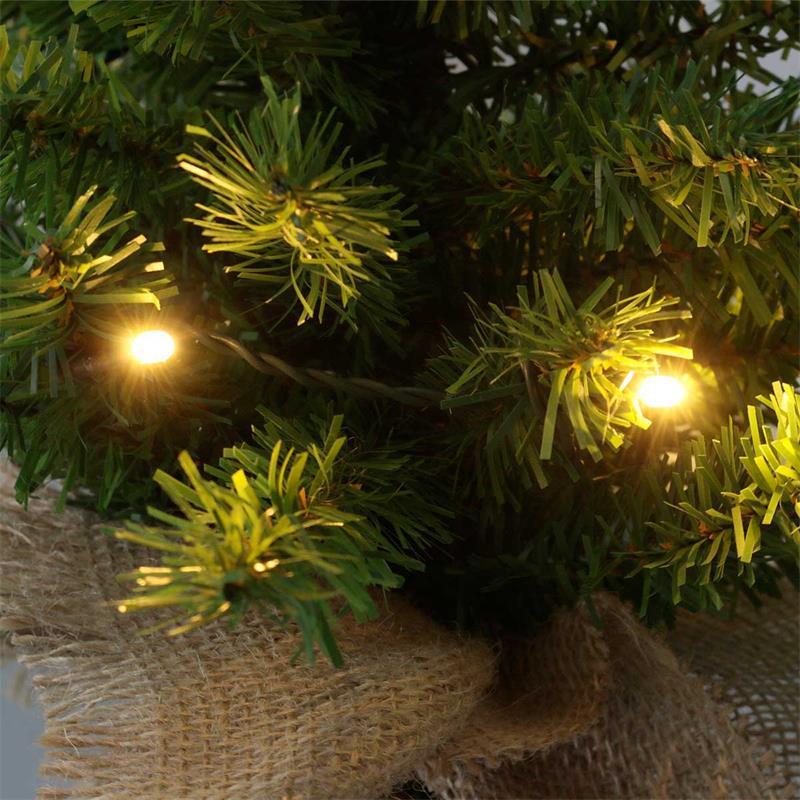Mini Weihnachtsbaum Mit Batterie.Led Weihnachtsbaum Toppy Warmweiß 3 Höhen Batterie