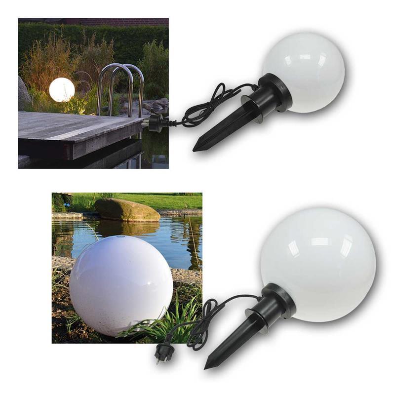 E27 Garden Ball Light Ct Gl 2030 230v Outdoor 2030cm