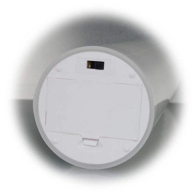 led kerze bianco wei 7 2x15cm mit timer f r au en. Black Bedroom Furniture Sets. Home Design Ideas