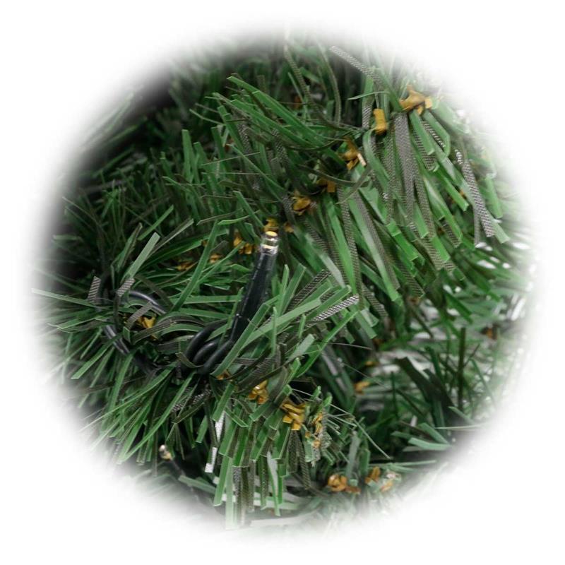 Künstlicher Weihnachtsbaum Für Aussenbereich.Künstlicher Weihnachtsbaum 2 1m Led Beleuchtung Für Außen