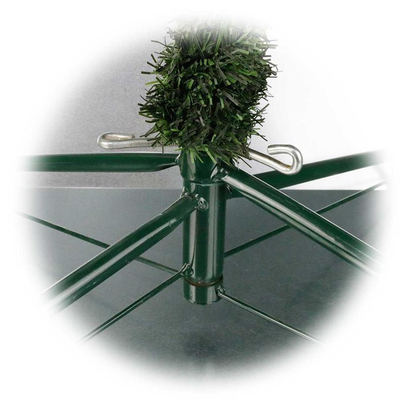 k nstlicher weihnachtsbaum 2 1m led beleuchtung f r au en. Black Bedroom Furniture Sets. Home Design Ideas