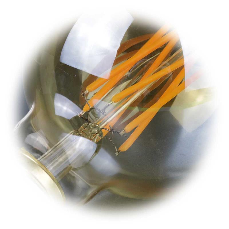 LED Retro Birne VINTAGE   Filament   Kugel Ø95mm   240lm
