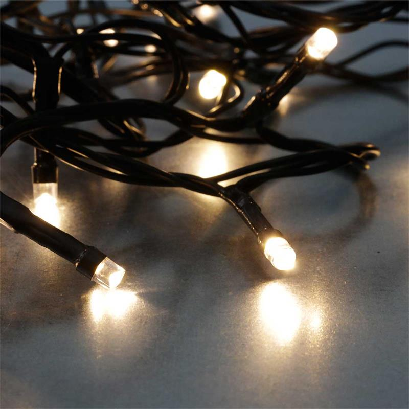 Led System Weihnachtsbeleuchtung.Led Fairy Lights 2 8m Battery Timer Black Cable Ip44