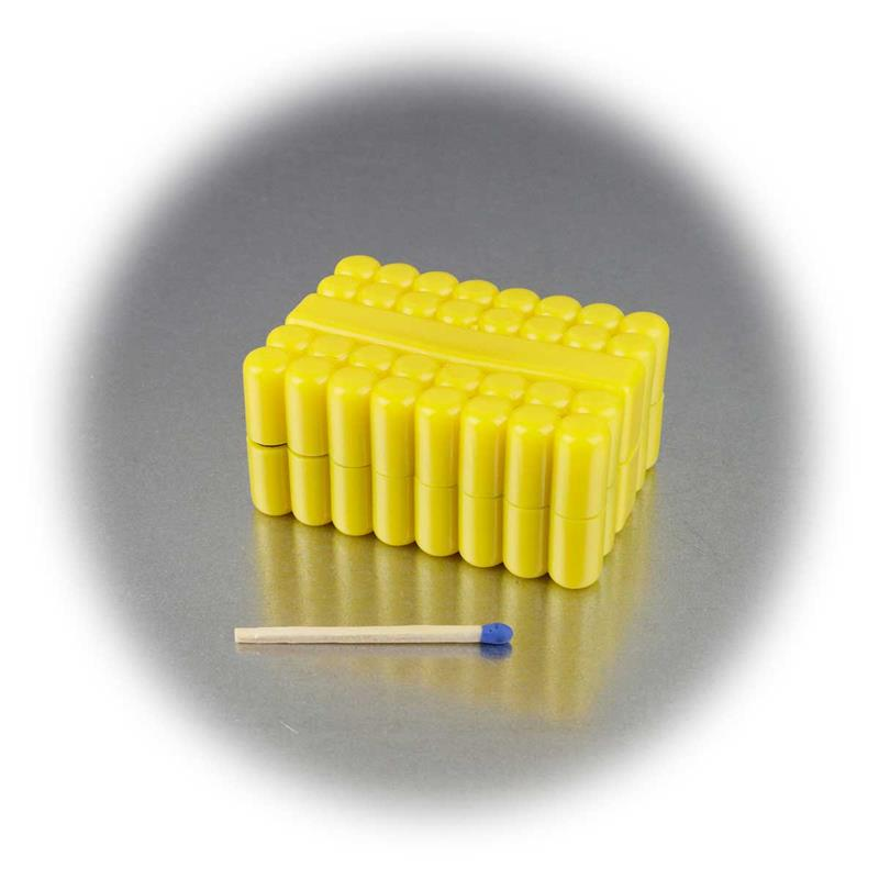 Bitset 33-piece in soft rubber box, with bit holde