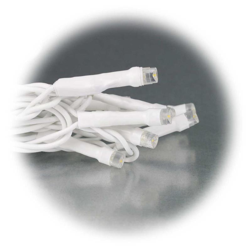 Lichtvorhang   warmweiß   IP44   System Decor   weiß