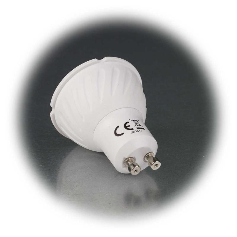 LED Strahler   GU10   LDS-50   rot   Deko-Strahler   230V/5W