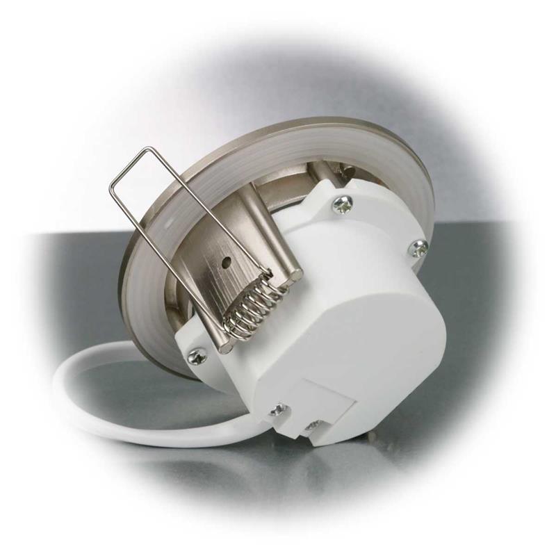 LED Einbauleuchte Flat-40FR   Edelstahl   warmweiß   5W