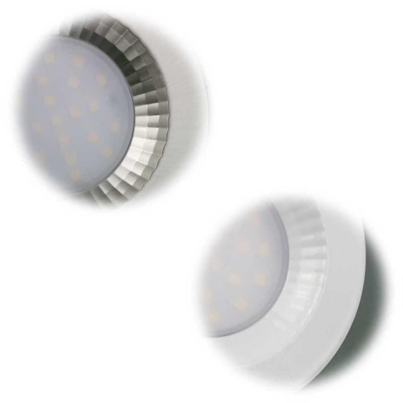 LED downlight | 5W | stainless steel/white | warm/pure white