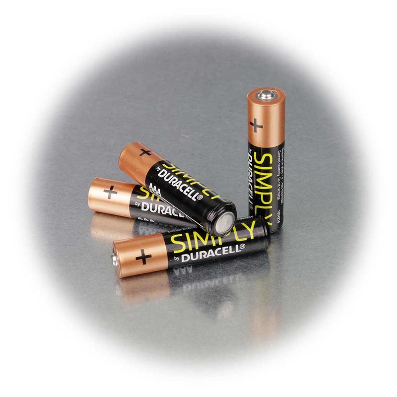 duracell oem aaa alkaline batterie 4er pack lr03. Black Bedroom Furniture Sets. Home Design Ideas