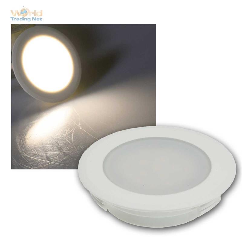 Wandeinbaustrahler-230V-fuer-UP-Dose-LED-Stufenlicht-Treppenlicht-Treppenleuchte