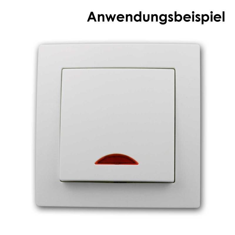 UP FLAIR Doppelsteckdose wei/ß 250V~//10A Schutzk