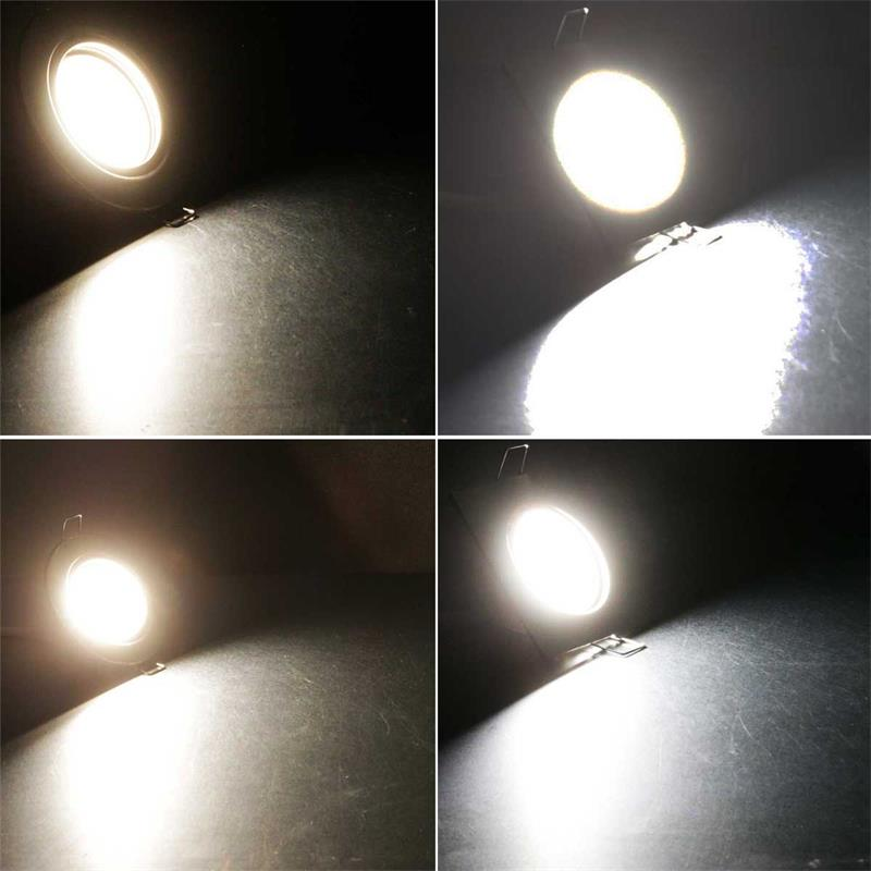 LED Leuchteneinsatz | 3/5W | 230V | warm-/neutralweiß/RGB