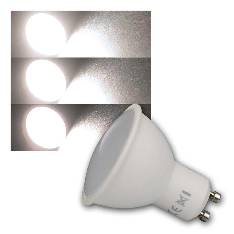 5er Set GU10 5 Watt LED Leuchtmittel 400 Lm Strahler Reflektor Lampe neutralweiß