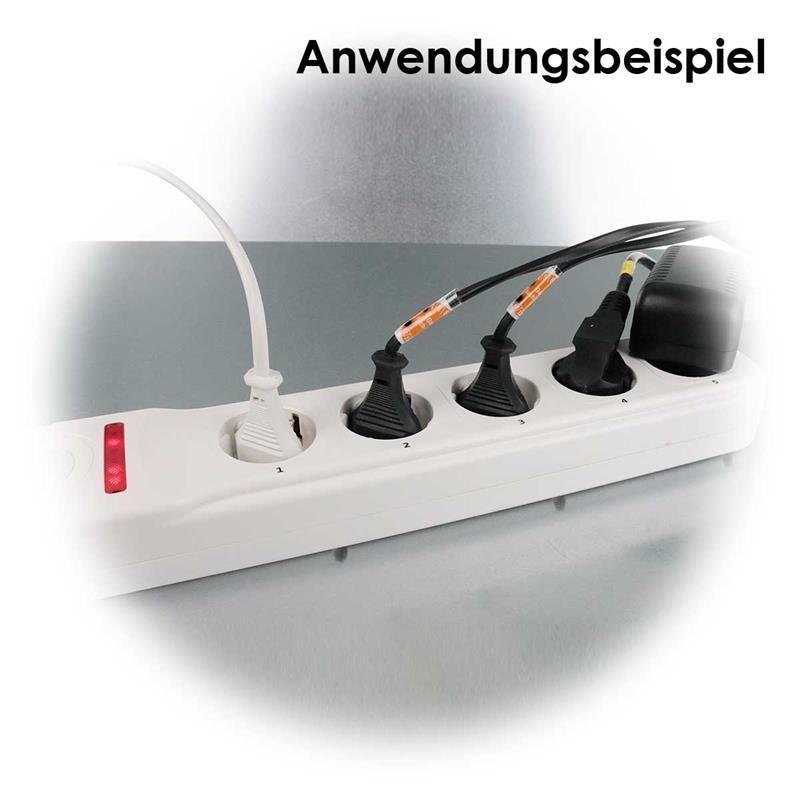Wireless power strip CTF-SL5 | sckets singly switchable