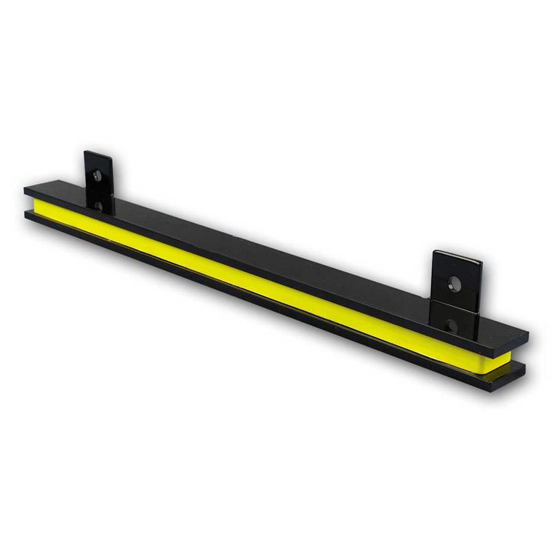 Magnetic bar | 330mm long | black | holds tools and knives