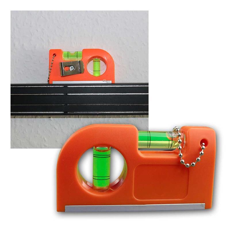 pocket wasserwaage mit magnet clip 2er set. Black Bedroom Furniture Sets. Home Design Ideas