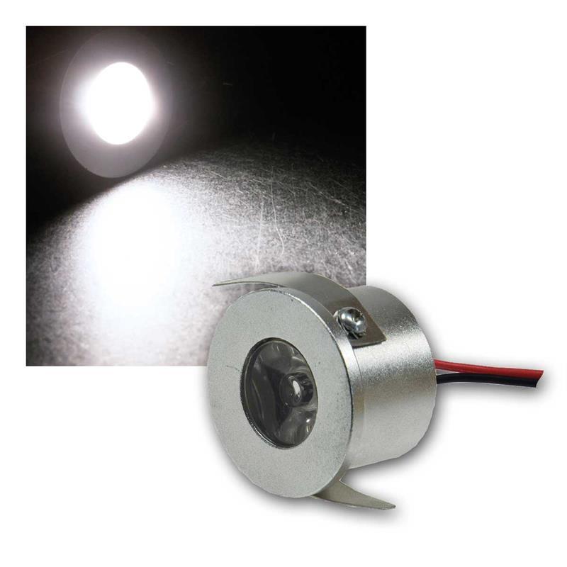 LED Einbau Spot | neutralweiß | 80lm | 12V/1W | Mini-Spot