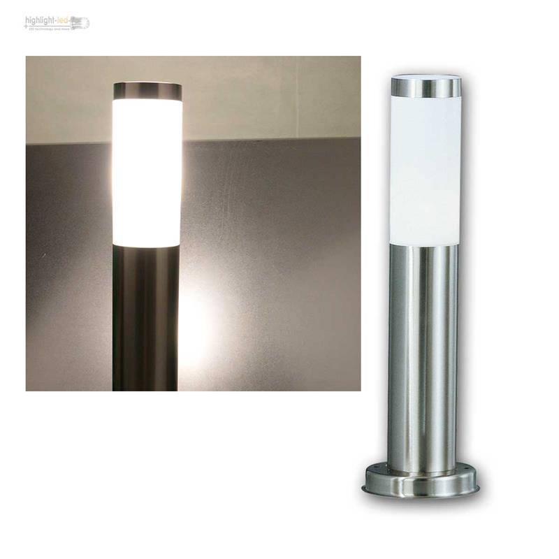 Außen Stand LED Lampe Garten Weg Beleuchtung Edelstahl Terrassen ...
