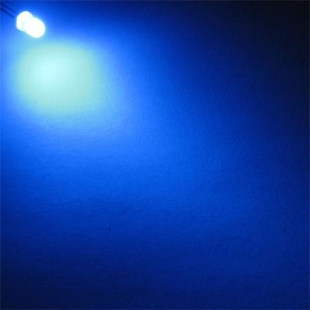 "Zubehör blue bleu blauw azzuro 20 x LEDs 3mm BLAU Typ /""WTN-3-11000b/"" blaue LED"