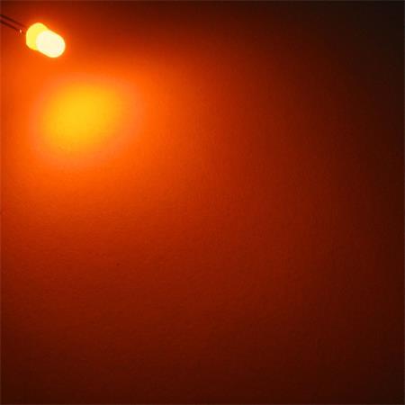 50 LEDs 3mm orange wasserklar WTN-3-5000o oranje arancione oransje naranja LED