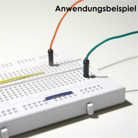 Connettore flessibile per laboratorio Steckboard per scheda spina spina 40er Set