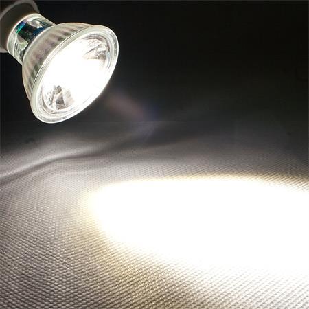 3W COB kaltweiß 250lm Strahler Birne Spot 230V Reflektor GU10 LED Leuchtmittel