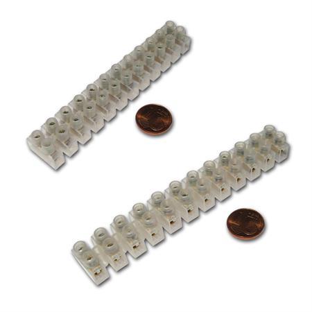 10x Lüsterklemmen 12-polig 6mm² Verbindungsklemme Klemme Klemmleiste