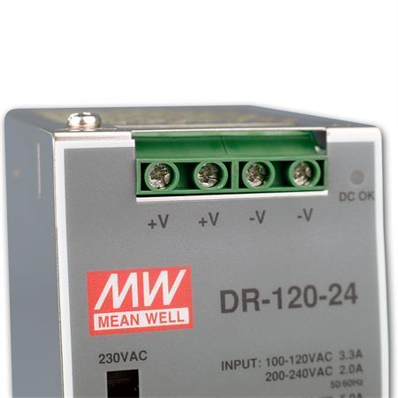 LED hutschienen Alimentatore Trasformatore Trasformatore hutschienen Alimentatore 24v100,8w