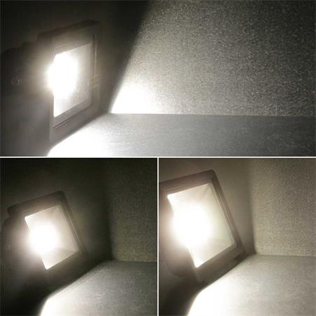schwarz LED Scheinwerfer 10//20//30W IP65 Flutlicht Strahler Hoflicht Fluter