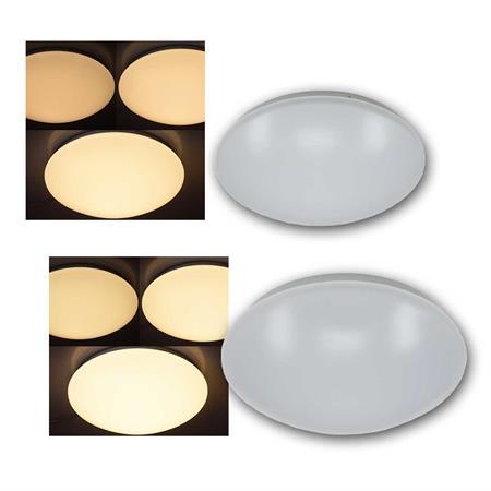 LED Plafond Deckenlampe INTEGRA Sensor 17W warmweiß 1000lm Deckenleuchte Lampe