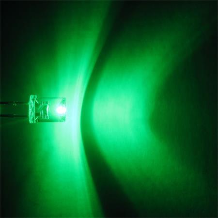 concave LEDs mit Zubehör 50 x LED 5mm konkav warmweiß