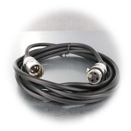 Kenford PA XLR-Verlängerung XLR-Kabel 3m Stecker//Buchse Mikrofonkabel
