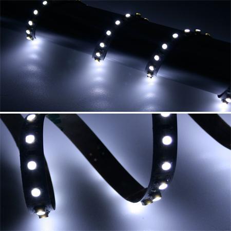 24,98€/m Lichter & Leuchten 40cm SMD LED Streifen 48 LEDs blau Lichtband